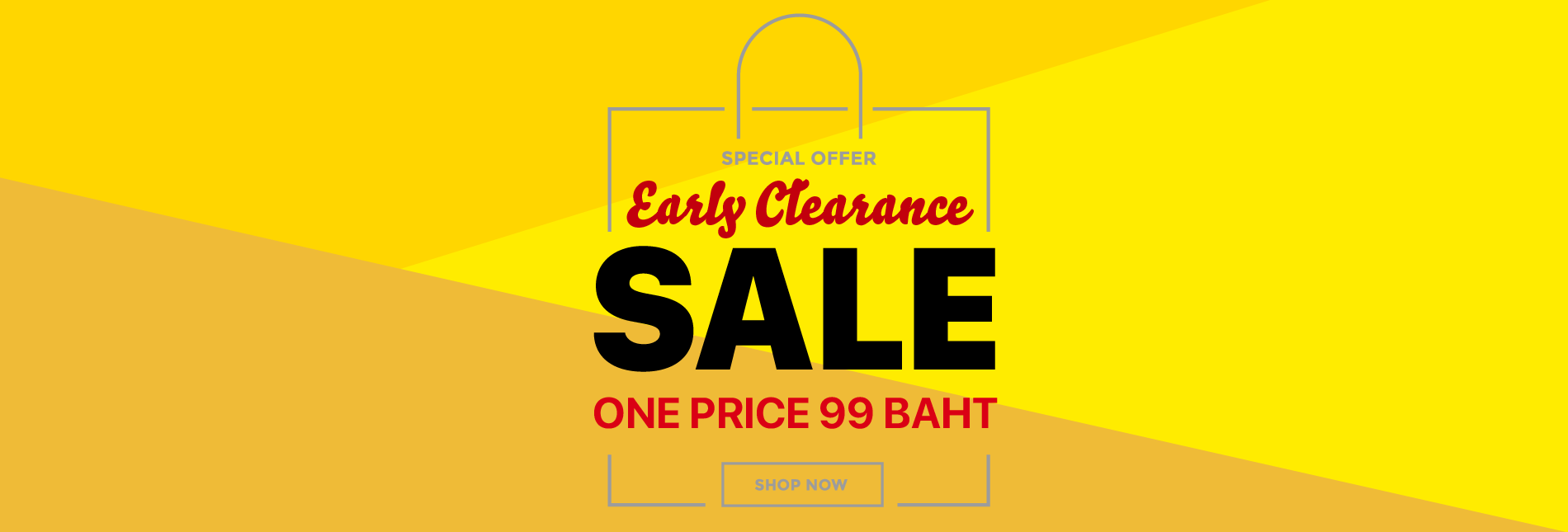 early clearance sale